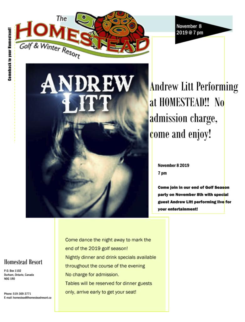 Andrew Litt Performing