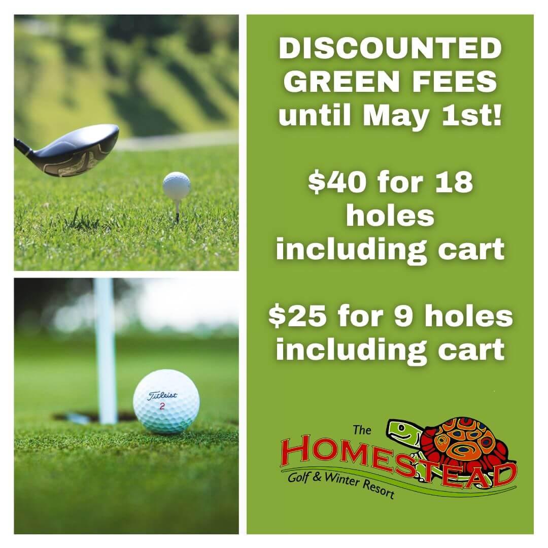green fee april deal golfing